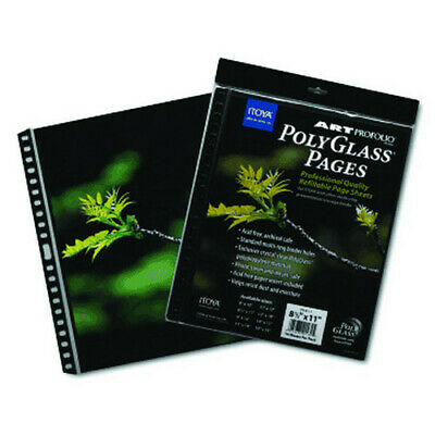 Itoya Of America, Ltd Hpr1411 Polyglass Crystal Clear Refill Sheet 14X11 10 Pack