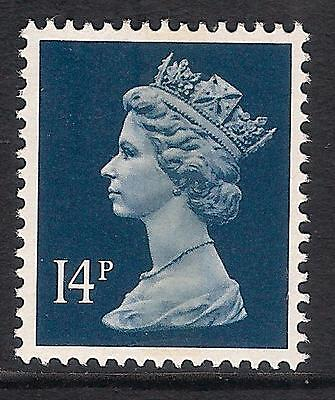 GB 1988 sg X1007 14p Deep Blue litho. centre band MNH