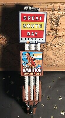 Great South Bay Brewery / Blonde Ambition Summer Ale /Beer Tap Handle - Preowned
