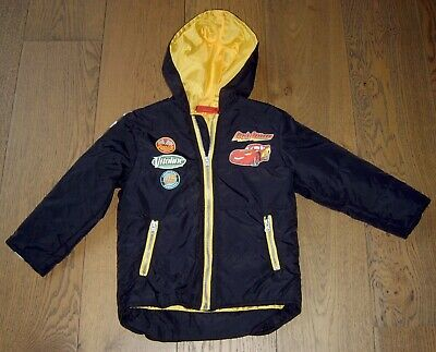 Cars Lightening Mcqueen Boys Hooded Jacket Sz 4 New Without Tags