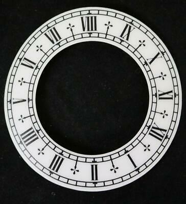 Clock Dial Chaptering Transfer Dial Sticking Back Dial For Clocks 9cm Diameter