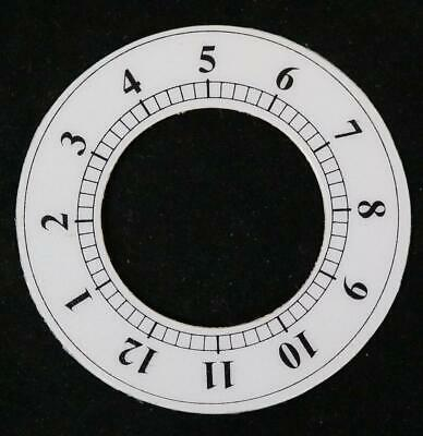 Clock Dial Chaptering Transfer Dial Sticking Back Dial Mantel Clock 6cm Diameter