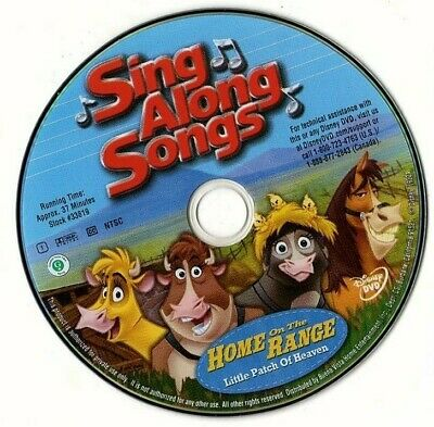 Home On The Range Dvd 2004 Free Shipping Disney Animation
