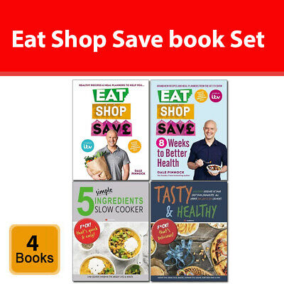 Eat Shop Save 8 Weeks to Better Health, 5 Simple Ingredients Set of 4 Books Pack