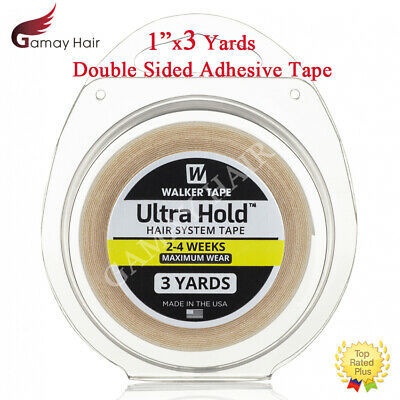 """Walker Ultra Hold Tape 1"""" X 3 Yards Hair Systems Toupee Wigs Double Sided Tapes"""
