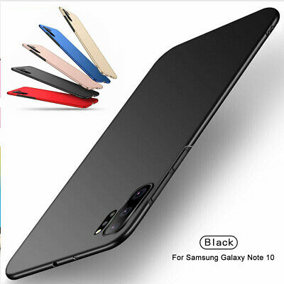 For Samsung Galaxy Note 10 Case Note 10 Plus Ultra Slim Matte Hard PC Thin Cover