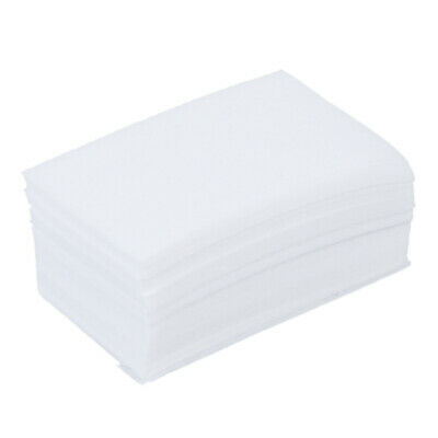 900pcs Nail Art Manicure Polish Remover Clean Wipes Cotton Lint Pads Paper I6P5