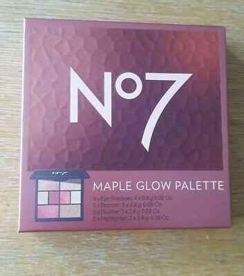 No 7 Maple glow palette New in Box