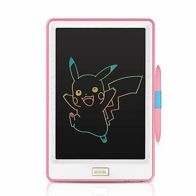 Newyes 10 Inch Lcd Writing Tablet, Colorful Display, Electronic Notepad For Kid