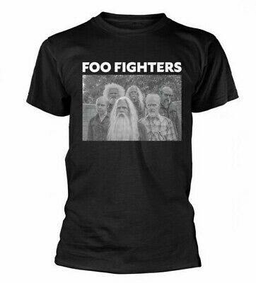 Official T Shirt FOO FIGHTERS Old Band Black Unisex New Size S M L XL XXL