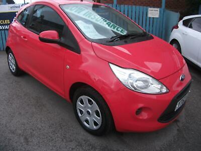 Ford Ka 1.2 Edge 5 SERVICE STAMPS MOT AUGUST 2020 AIR CONDITIONING ISOFIX