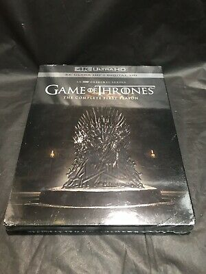 Game of Thrones : The Complete First Season 4K Ultra HD + Digital HD New Sealed