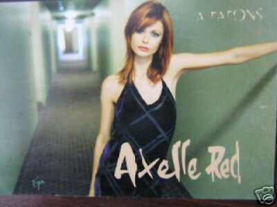 Axelle Red Carte Postale Promo France A Tatons