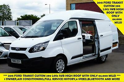 2015 Ford Transit Custom 290 L1H2 Swb High Roof Diesel Van With Air Conditioning