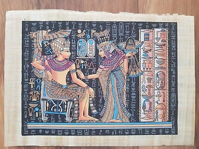Glow in the Dark Egyptian Papyrus Print - Design 11 - (A3 Size - 43cm X 31cm)