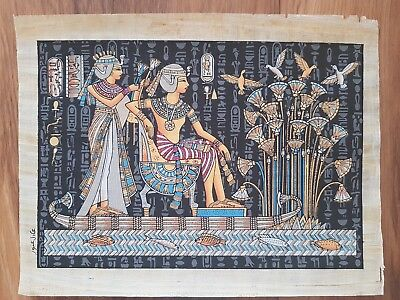 Glow in the Dark Egyptian Papyrus Print - Design 06 - (A3 Size - 43cm X 31cm)