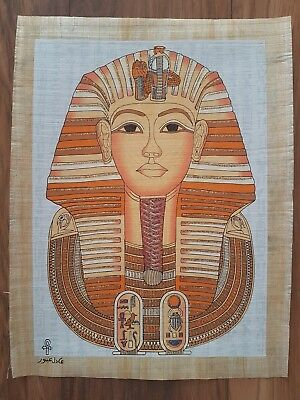 Glow in the Dark Egyptian Papyrus Print - Design 16 - (A3 Size - 43cm X 31cm)