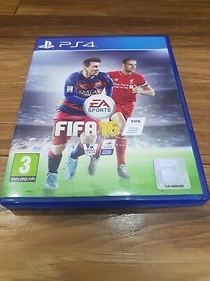 FIFA 16 PS4 (Sony PlayStation 4) Excellent Condition - Free Postage!