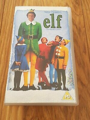 Elf (Will Ferrell) VHS PAL Video Tape