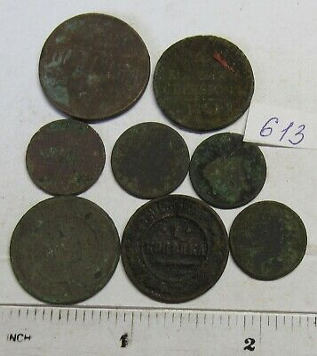 Old dug up coins. #613