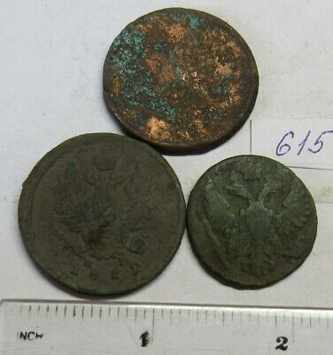 Old dug up coins. #615