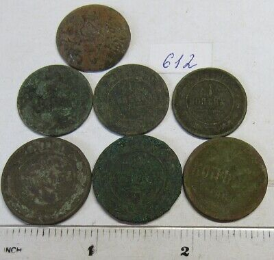 Old dug up coins. #612