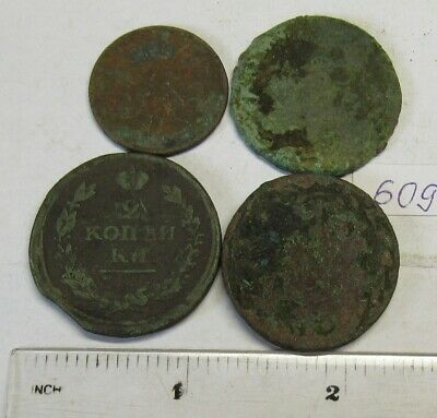 Old dug up coins. #609