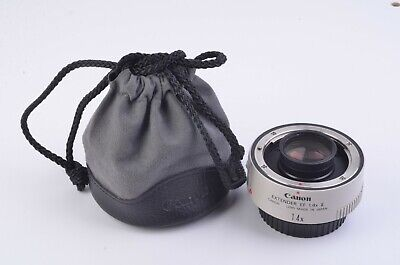 Exc++ Canon Ef 1.4X Ii Extender, Cap, Pouch, Clean, Gently Used