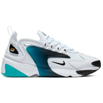 official photos 1dedb a4cc0 SCARPE NIKE ZOOM 2K cod. AO0269 106 2019/2020 AIR sneackers '90 White/Aqua  Green