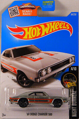 Hot Wheels 2016 '69 Dodge Charger 500 Zamac