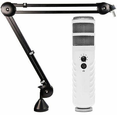 Rode Podcaster USB Microphone+PSA1 Moving Arm Stand