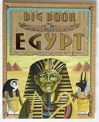 Big Book Of Egypt With Fun Flaps, Tabs, Foils And Pop-up Surprises!