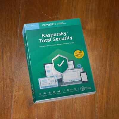KASPERSKY TOTAL SECURITY 1PC 1 Year (PURE)  VERSION 2019 NEW - NOT PREACTIVATED