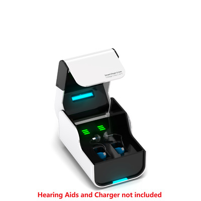 Smart Dryer Li-Ion Signia Pure Charge & Go Hearing Aid Charger and Dehumidifier