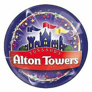 4x Alton Towers E Tickets 02 September 19 (Monday,02.09.19)School Holidays!