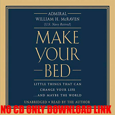 Make Your Bed: Little Things That Can Change Your Life...(AUDIOBOOK)