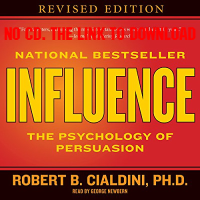 Influence The Psychology of Persuasion by Robert B Cialdini (Audiobook)