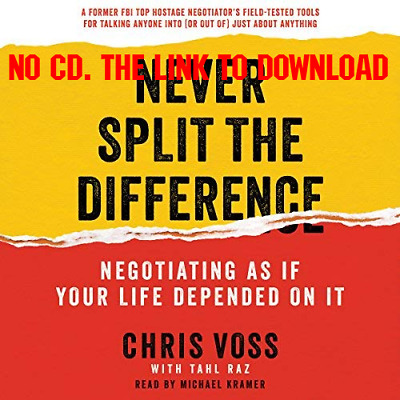 Never Split the Difference By Chris Voss (Audiobook)