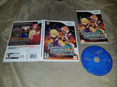 Tales of Symphonia Dawn of The New World (Nintendo Wii) - Complete - NTSC