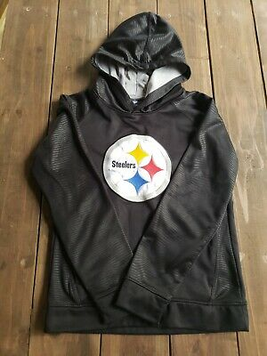 best service ee4cf 3a746 NFL TEAM APPAREL Youth Pittsburgh Steelers Hoodie Sweatshirt ...
