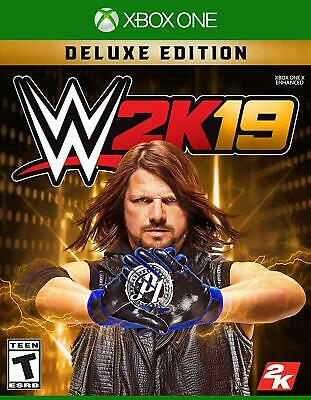 Take 2 WWE 2k19 Deluxe Edition Xbox One