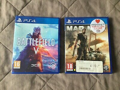 Battlefield V & Mad Max PS4