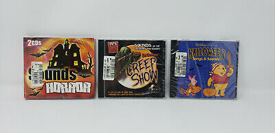 SHIVERS HALLOWEEN PARTY: CREEPY PACK: MUSIC, SOUNDS & STORIES (3-CD