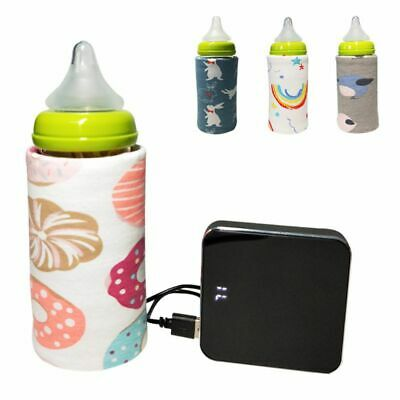 New Baby Bottle Insulation Cover Constant Temperature USB Bag Warm Bottom Cap