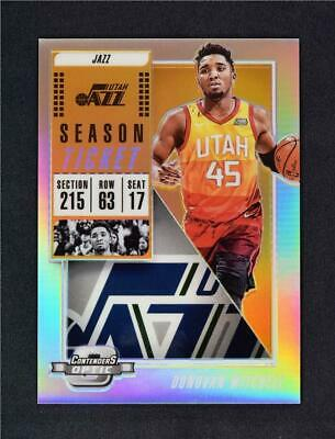 2018-19 Contenders Optic Silver #73 Donovan Mitchell