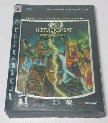 Mortal Kombat vs. DC Universe Kollector's Edition (Sony PlayStation 3, 2008)