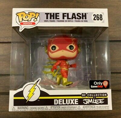 Funko POP!  DC Jim Lee Collection: The Flash Deluxe - Gamestop Excl 268 Read!