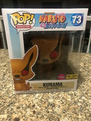 "Funko Pop! Animation Naruto 6"" Kurama Flocked Hot Topic Exclusive"