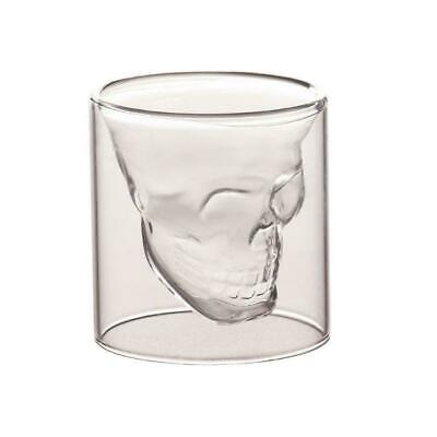 Whiskey Tequila Shot Glass Fun Creative Skull Shape Wine Drinking Cup Party K4S1