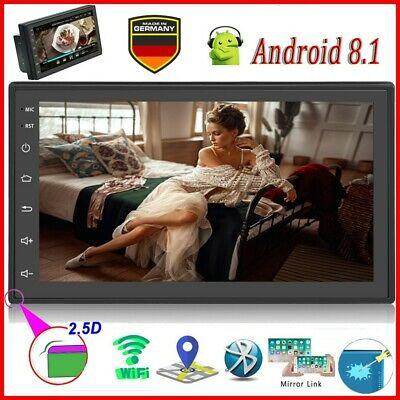 "Android 8.1 Autoradio 7"" 2DIN GPS NAVI MP5 1080P Radio Bluetooth WIFI FM 2.5DTFT"